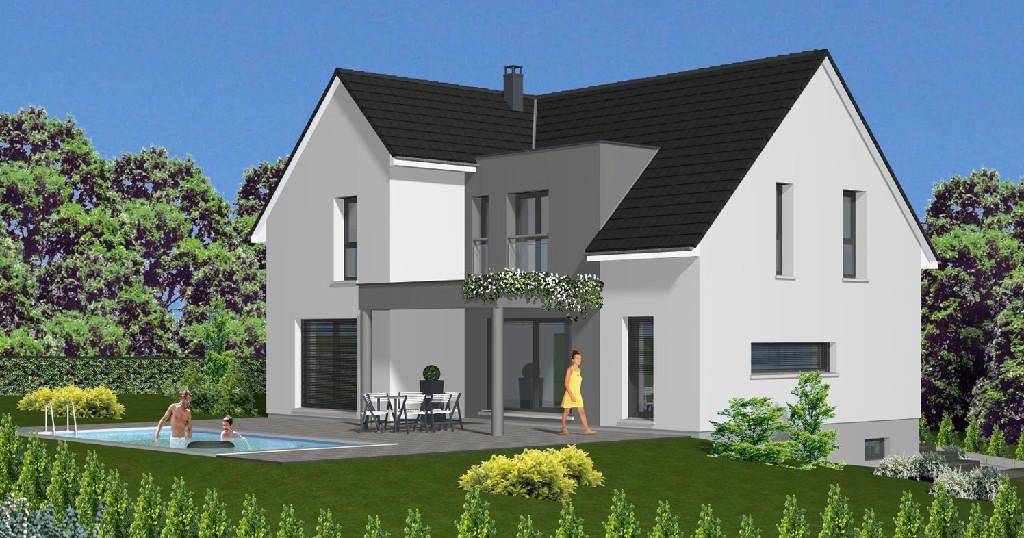 Achat vente maison de 8 pi ces 01 dans le haut for Constructeur maison wittenheim