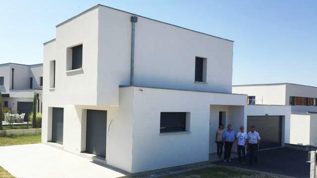 Une maison EUROMAISONS design sur les hauteurs de Sierentz
