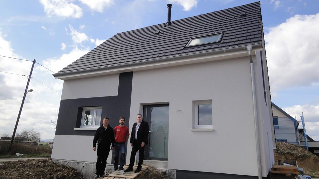 Une maison individuelle EUROMAISONS contemporaine