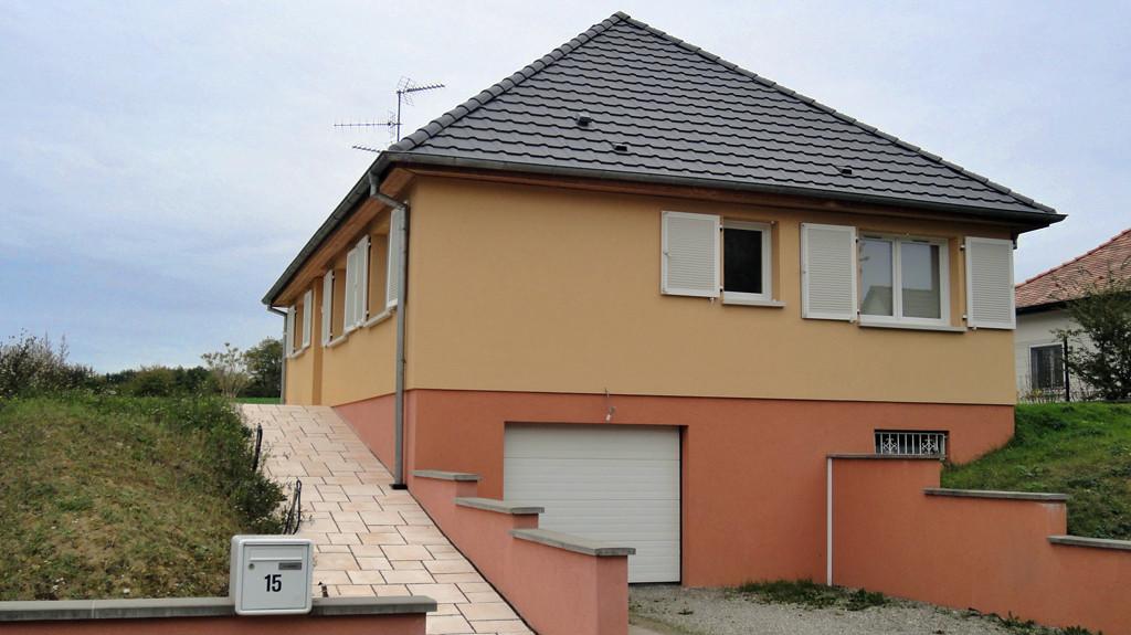 Un pavillon EUROMAISONS à Bruebach, proche de Mulhouse