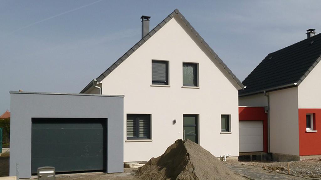 Une maison semi individuelle EUROMAISONS à Sierentz