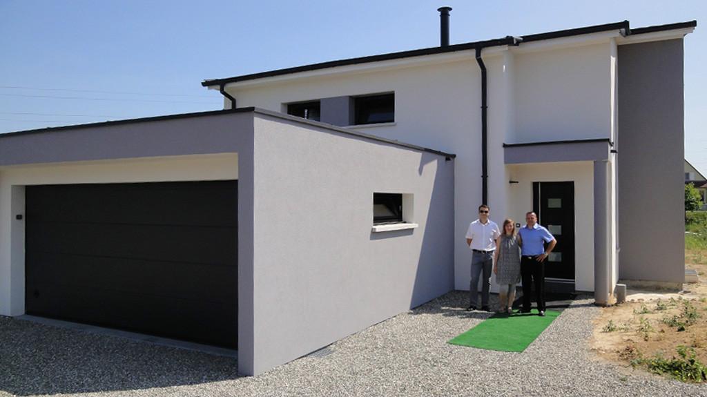 Une maison EUROMAISONS design au coeur du vignoble alsacien