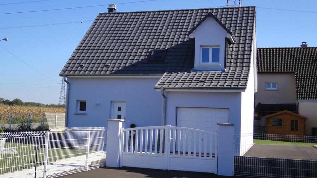 Une maison EUROMAISONS finie à Kembs